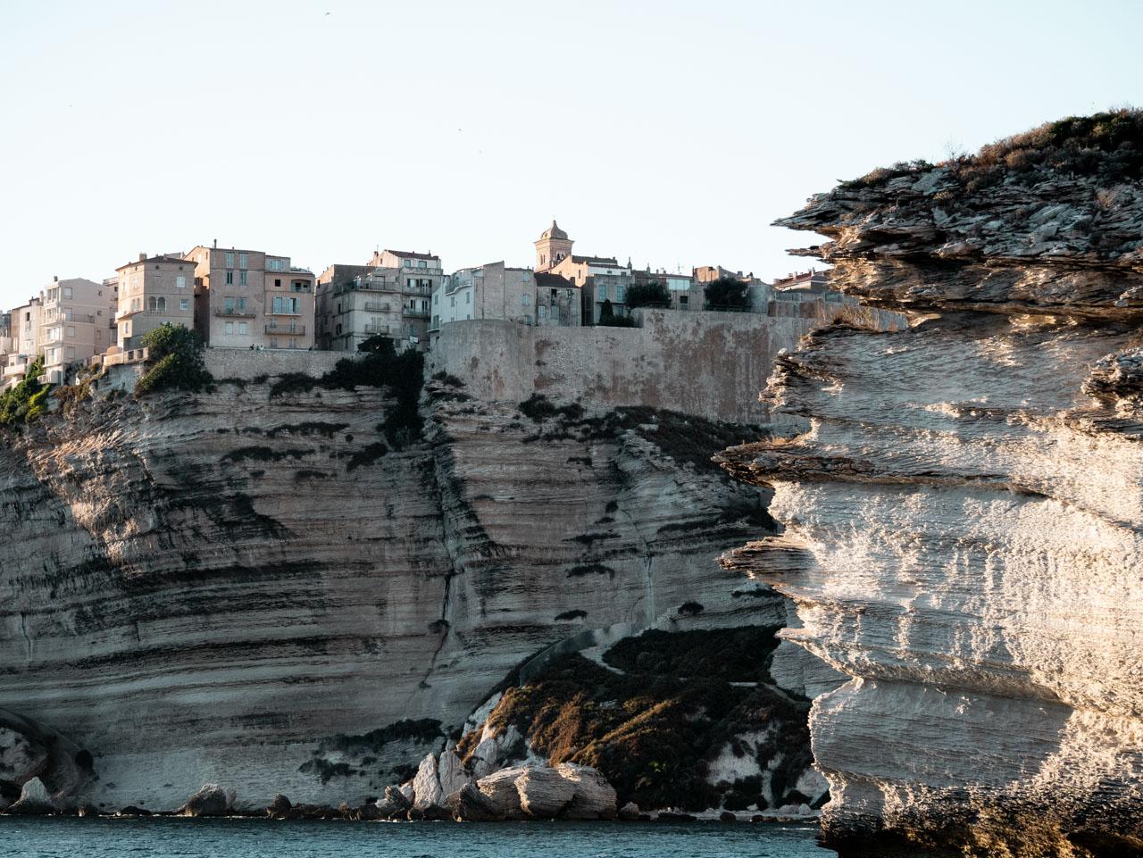 Voyage en Corse du sud : les falaises de Bonifacio