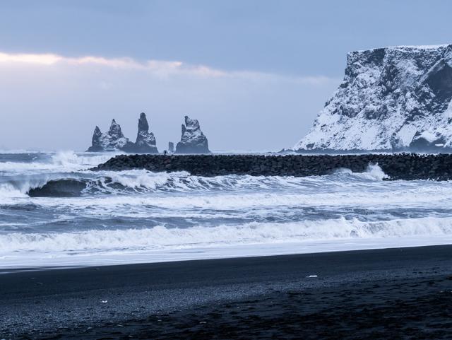 Les célèbres falaises de Vik en Islande