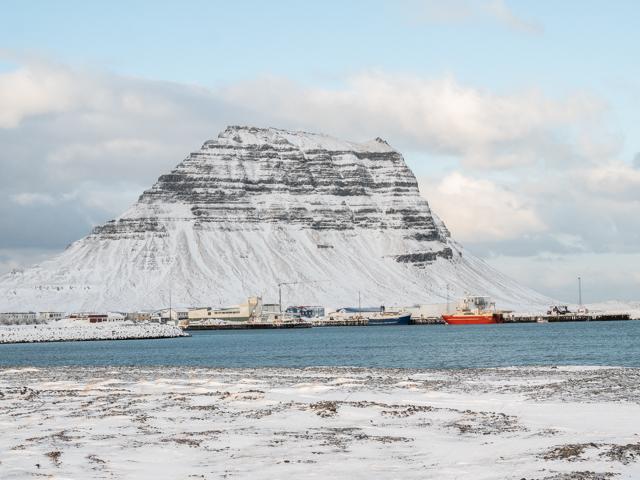 La beauté des paysages islandais en hiver