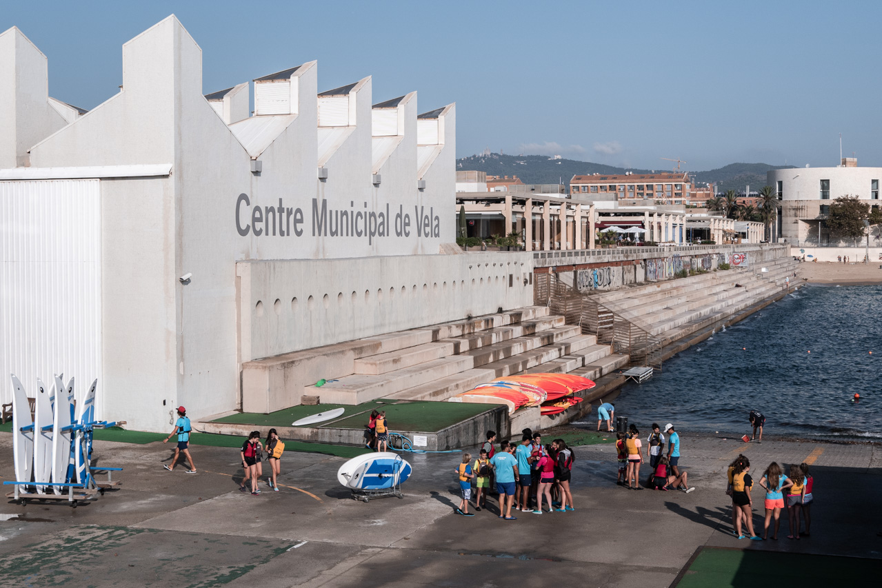 Barcelone à pied : le port olympique