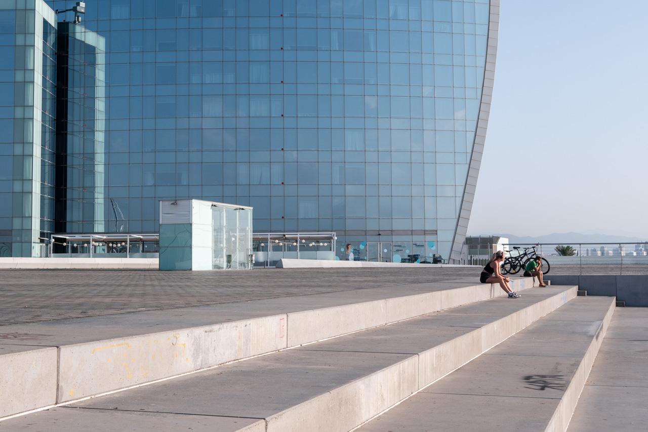 Découvrir l'hôtel W sur la plage de Barcelone