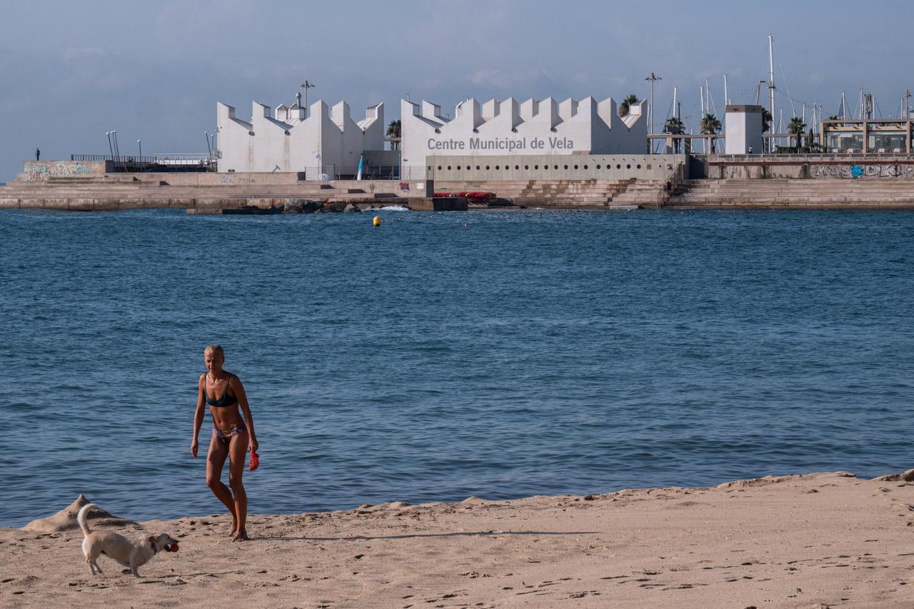 Balade sur les plages de Barcelone