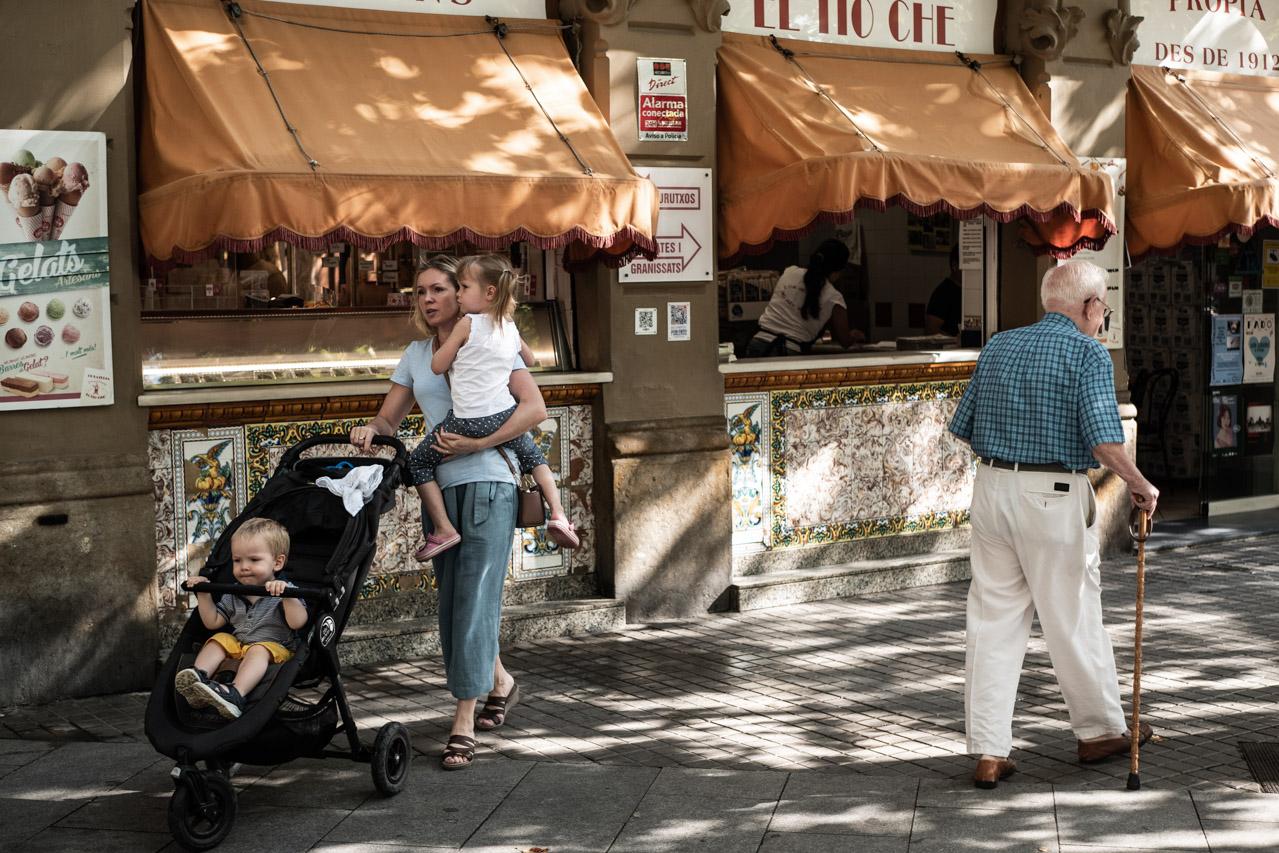 Itinéraire à pied à Barcelone : la ville nouvelle