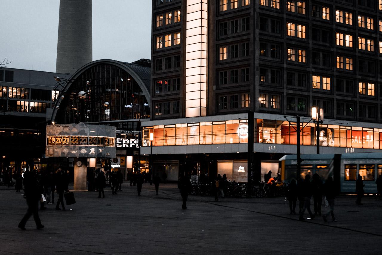 Alexanderplatz à Berlin