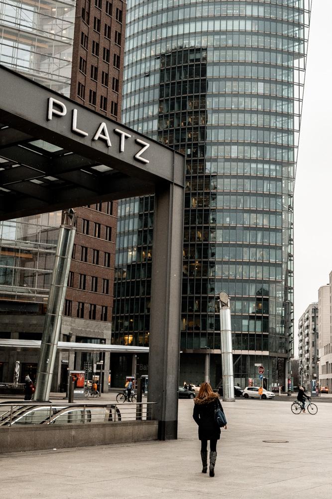 Architecture à Potsdamer Platz