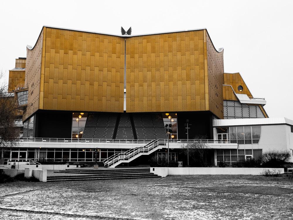 Architecture naturaliste à la Philharmonie de Berlin