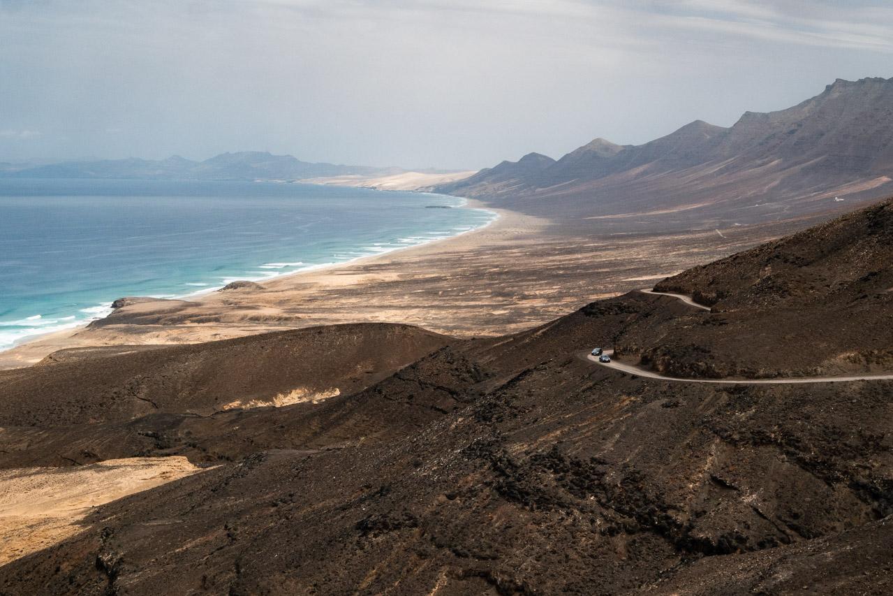 Découvrir la plage de Cofete à Fuerteventura