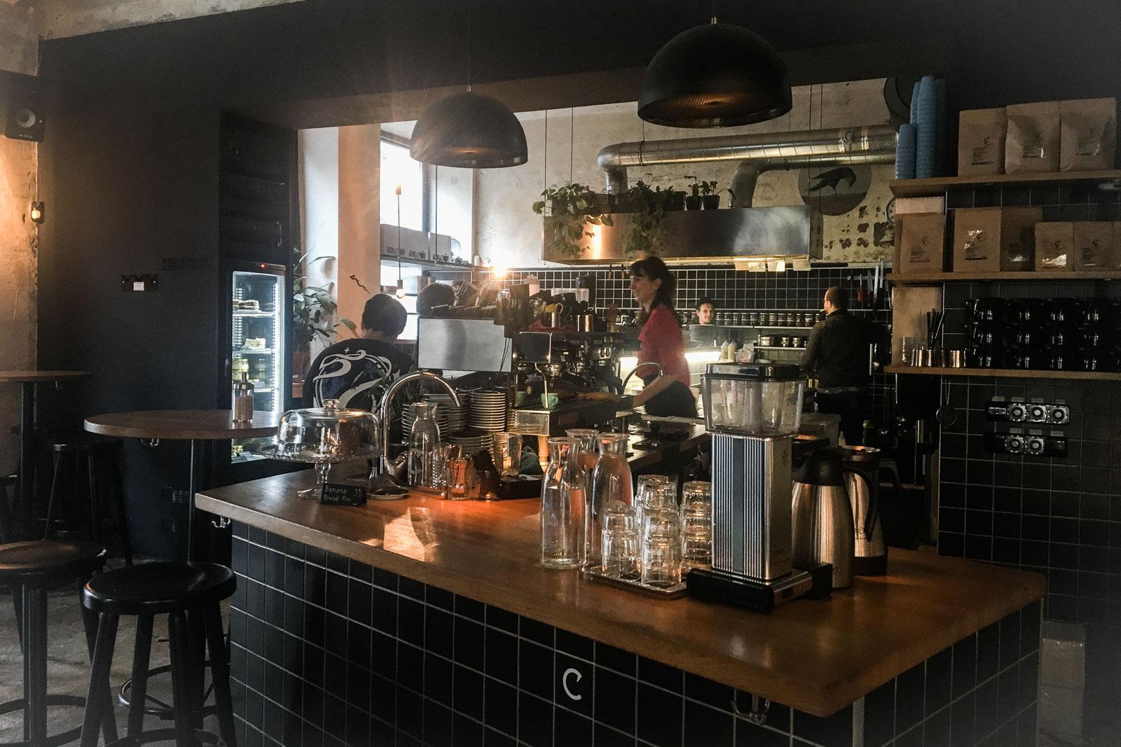 Sortir à Prague : le bar Cobra