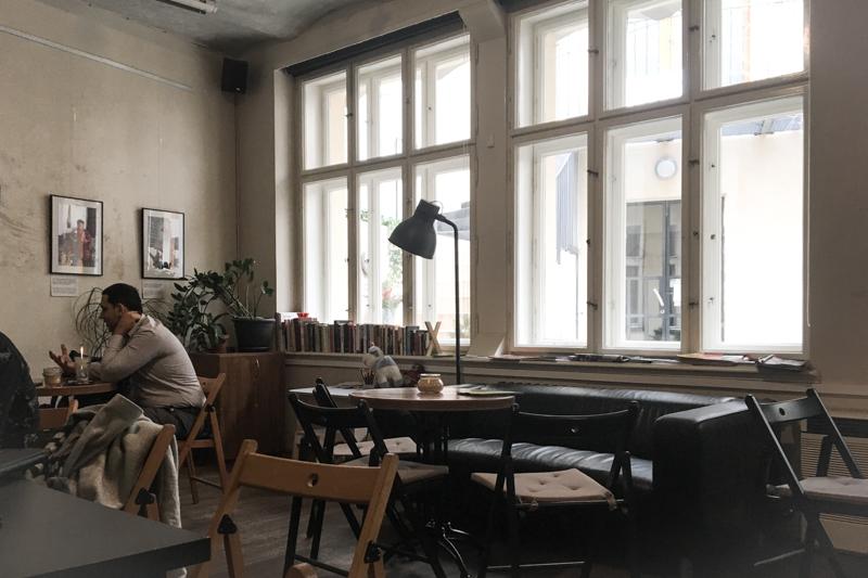 Salon de thé à Prague