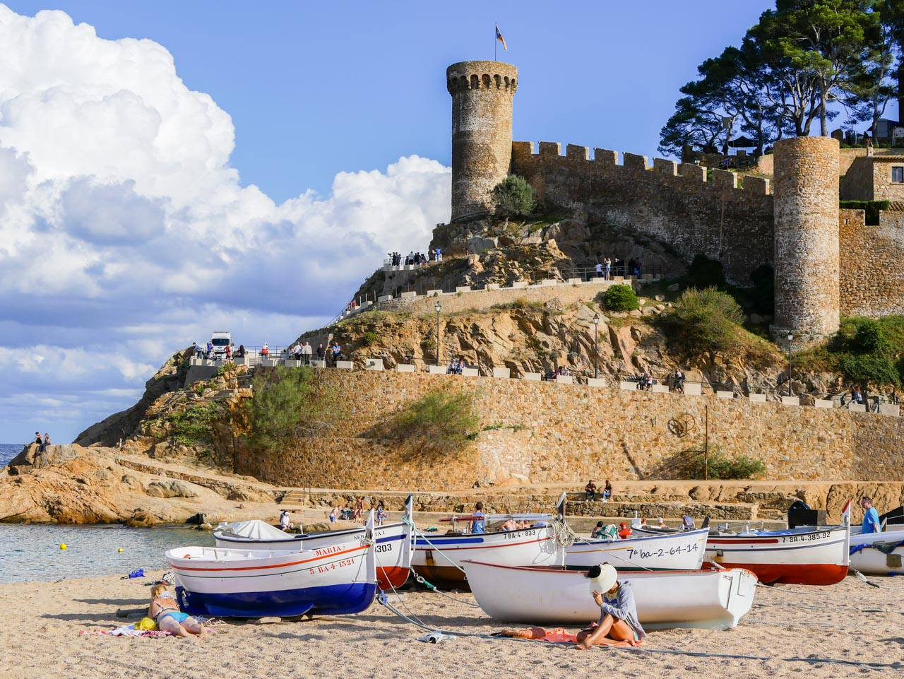 Week-end sur la Costa Brava à Tossa de Mar