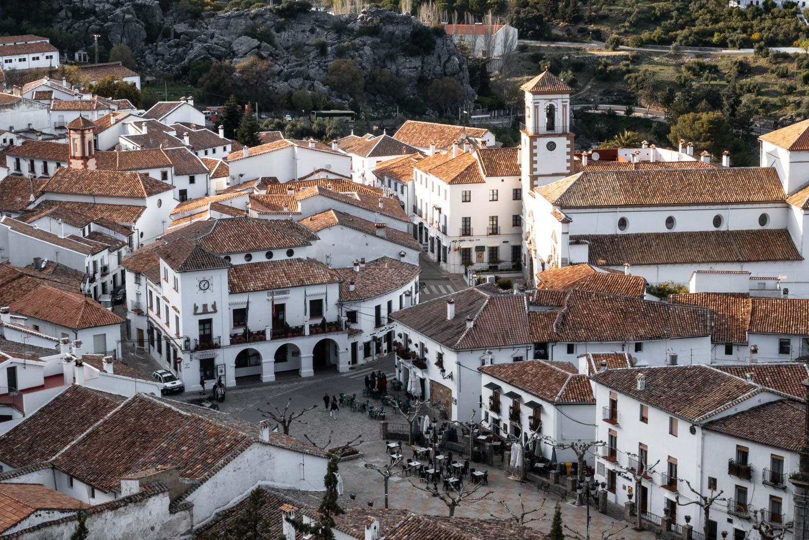 Grazalema sur la route des villages blancs d'Andalousie