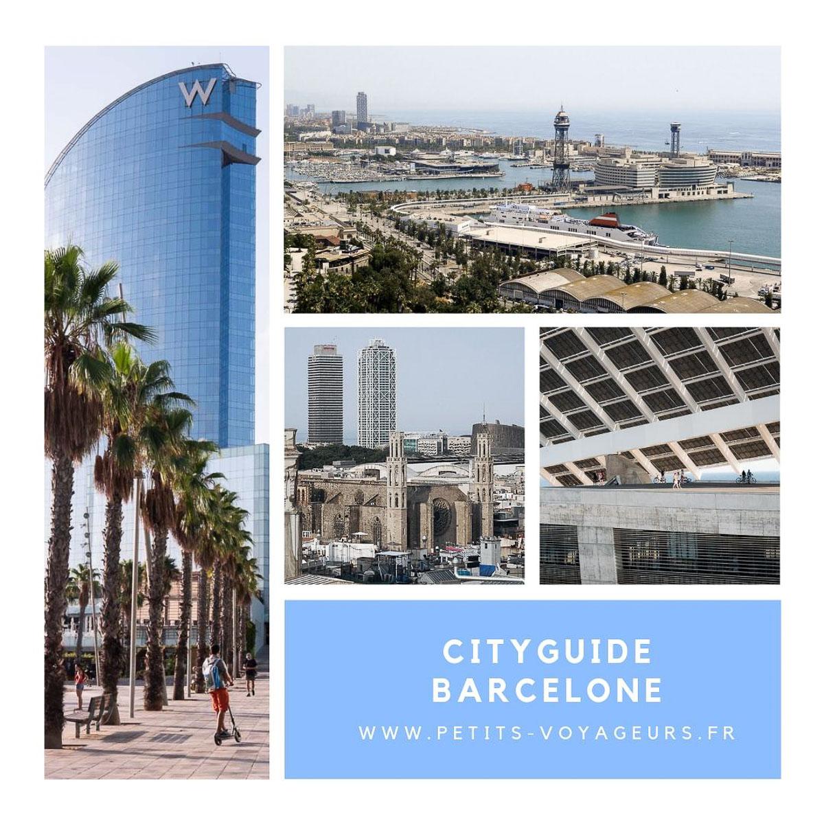 Découvrez mon cityguide à Barcelone
