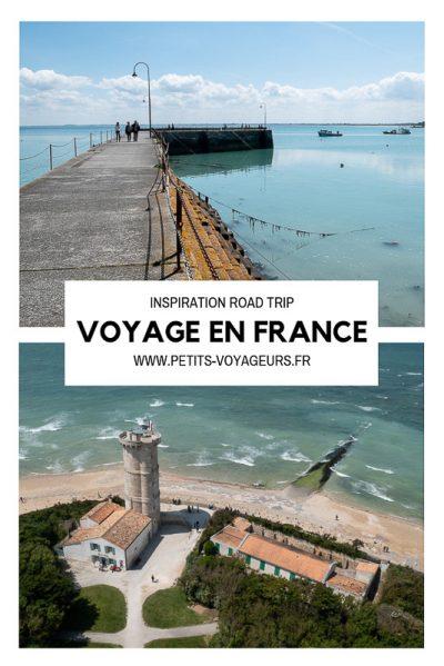 Voyage en France à partager sur Pinterest