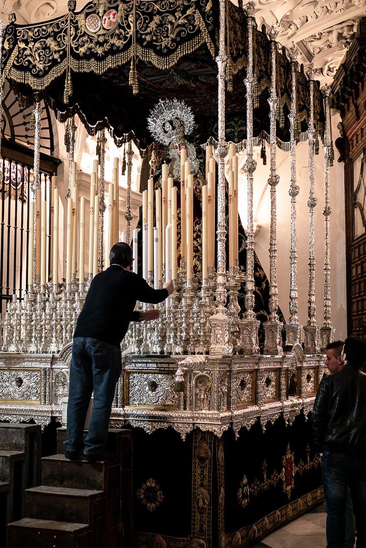 Séville pendant la semaine sainte