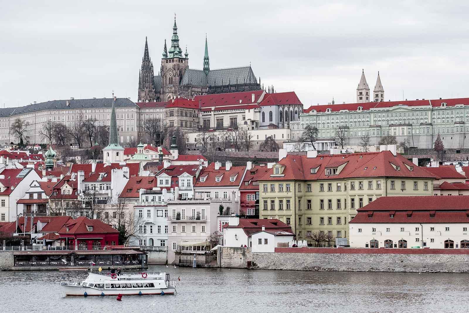 Visiter le château de Prague