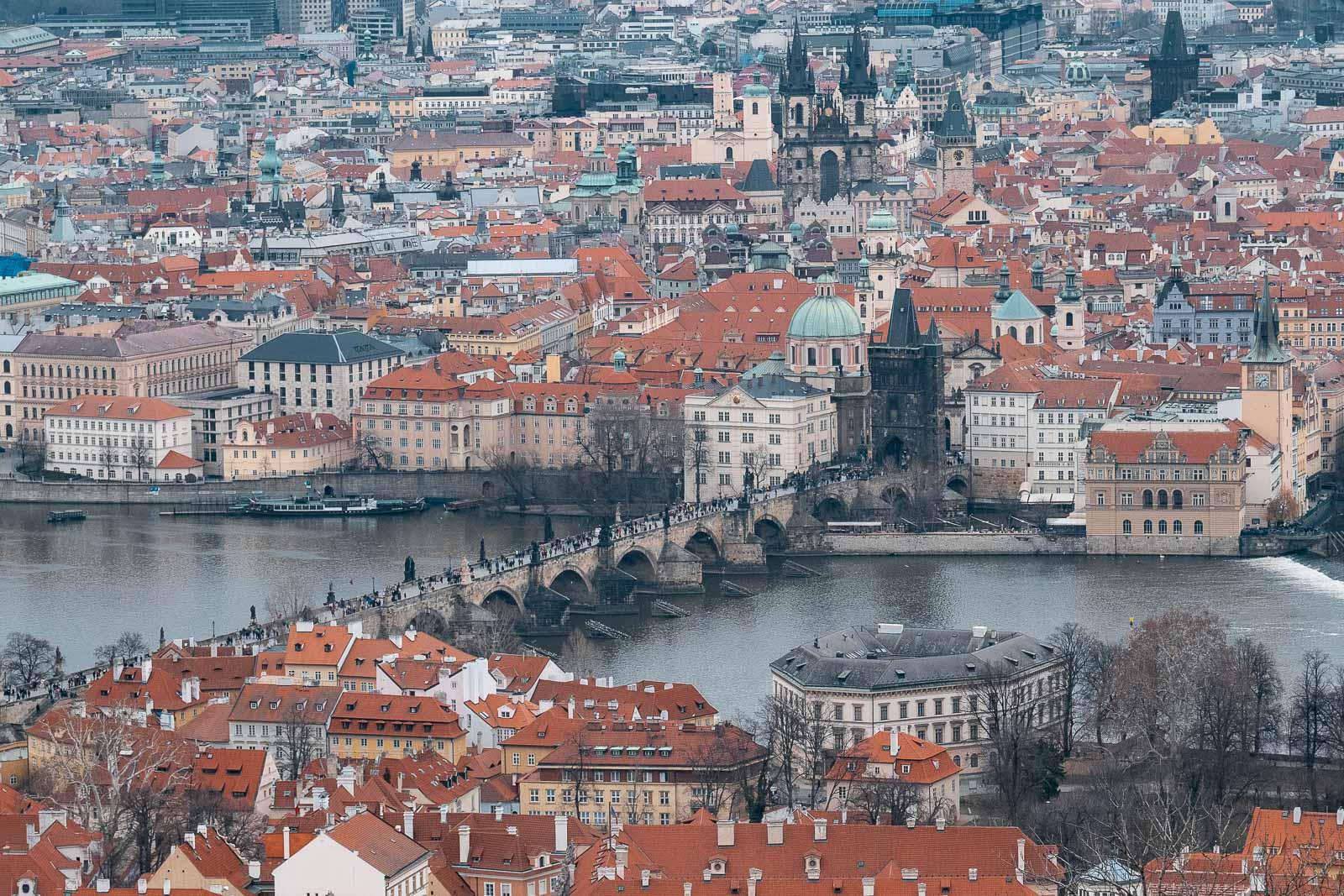 Découvrir la vielle ville de Prague