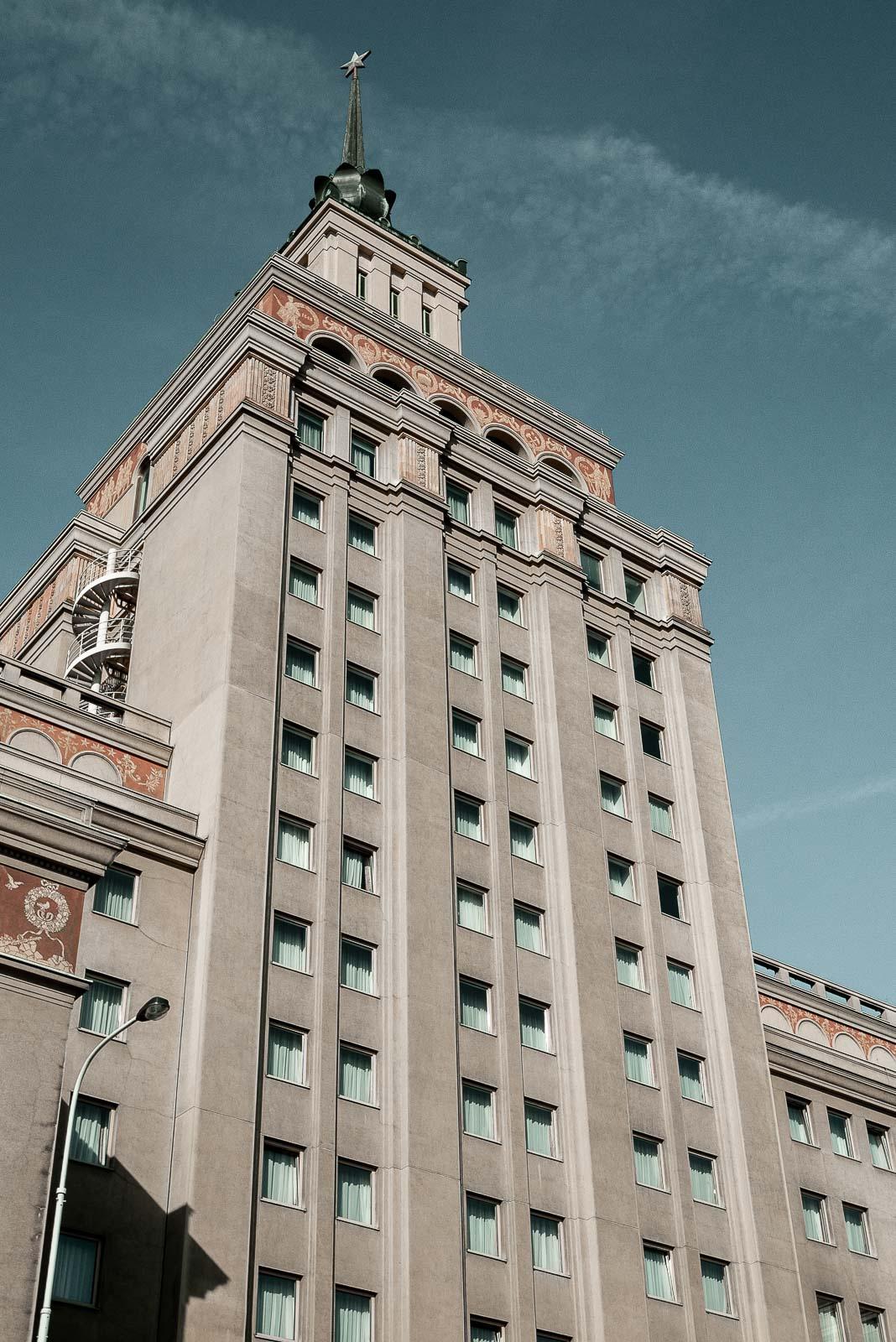L'hôtel Staline à Prague