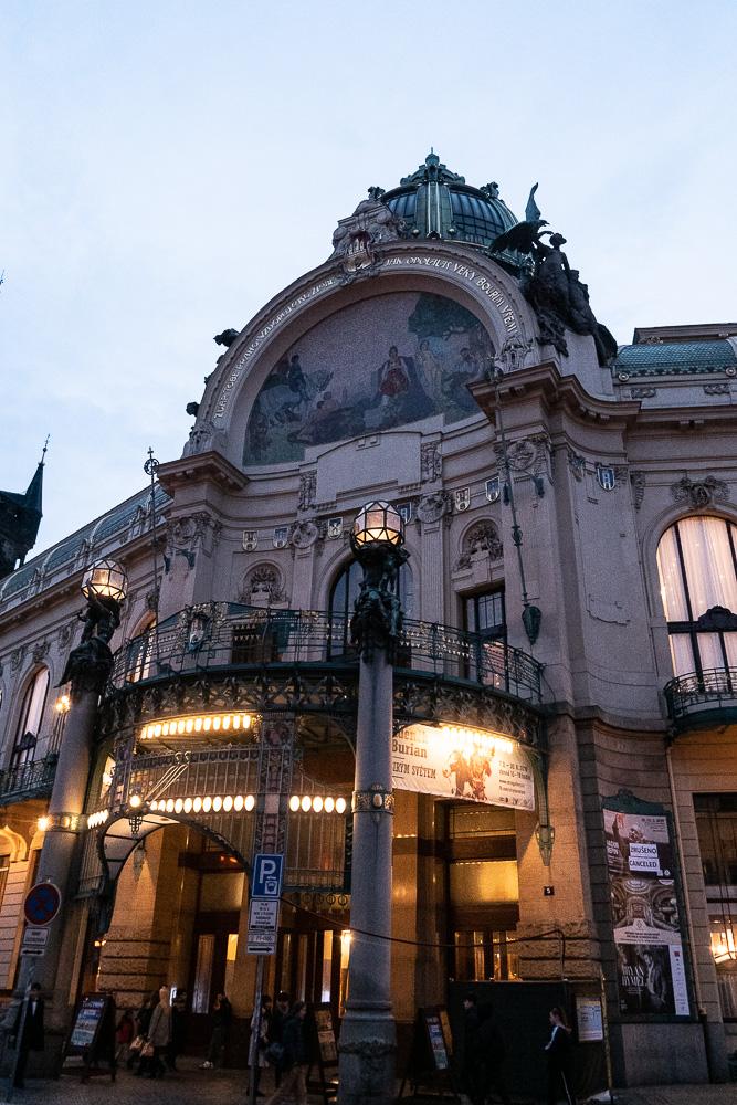 L'opéra du vieux Prague