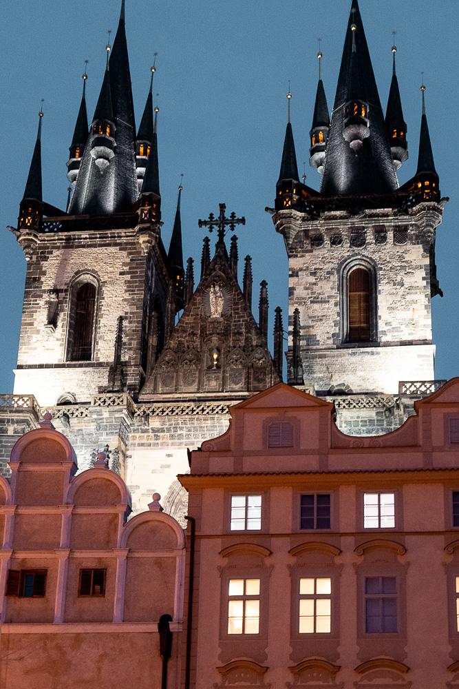 Place de la vielle ville de Prague