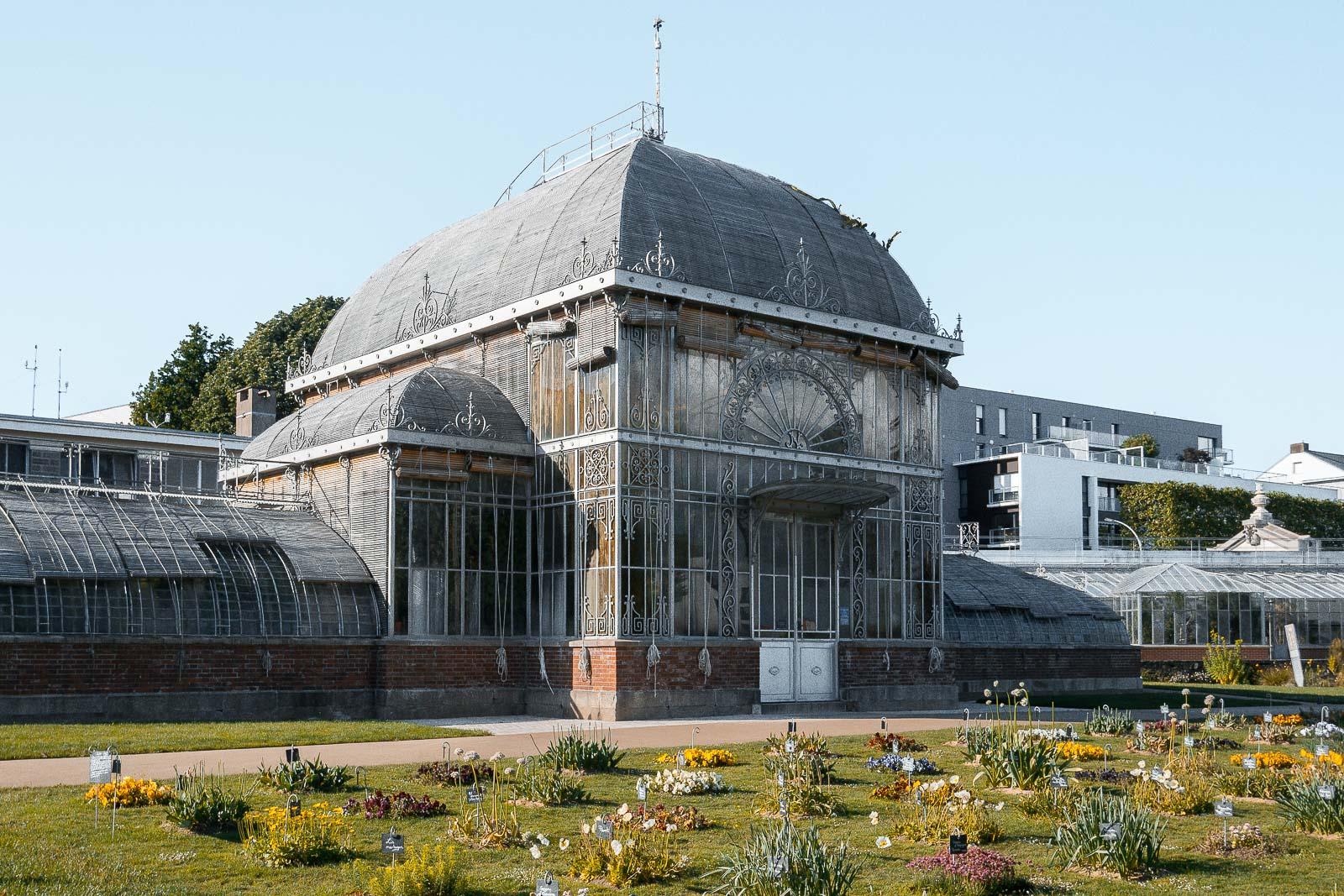 Podcast à Nantes : visite du jardin des plantes