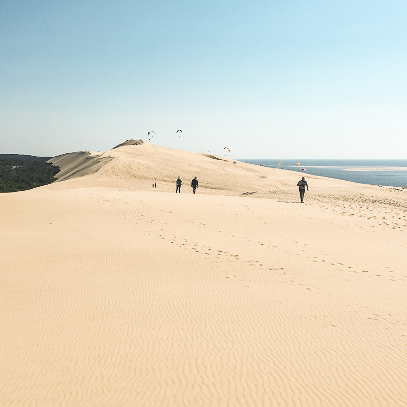 Week-end sur la dune du Pyla
