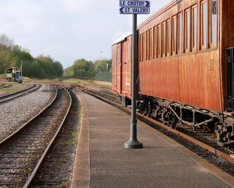 Prendre le train dans la baie de Somme