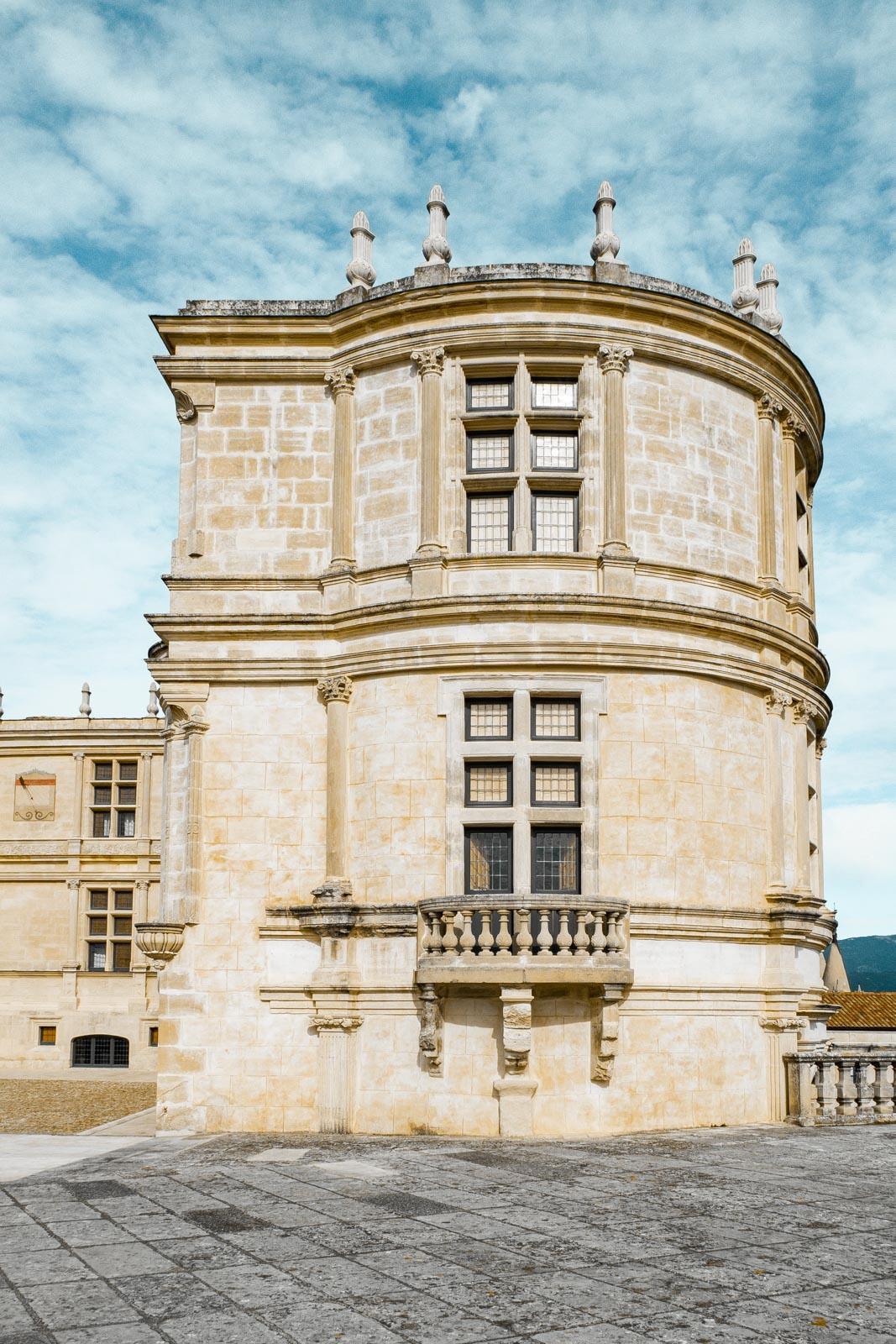 Tour du château de Grignan