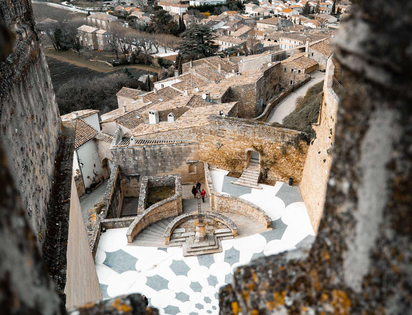 Visiter le château de Grignan
