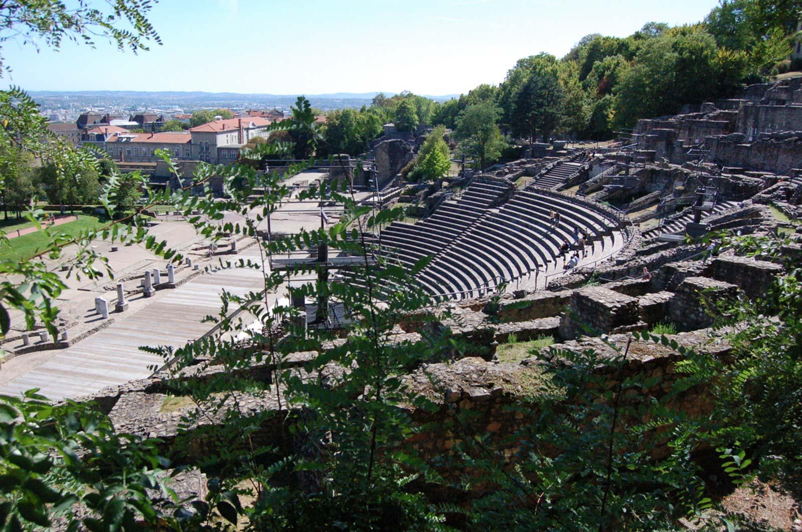 Le théâtre romain de Lyon