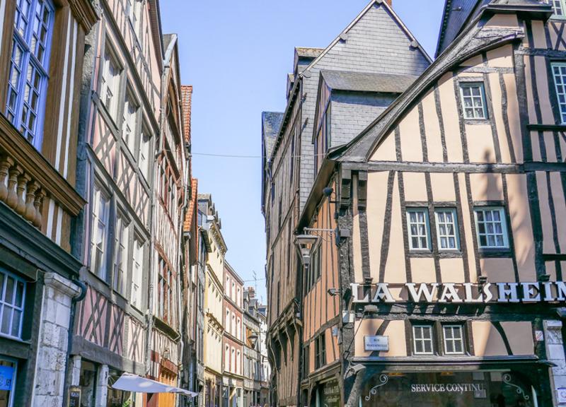 Découvrir les villes de Normandie en citytrip
