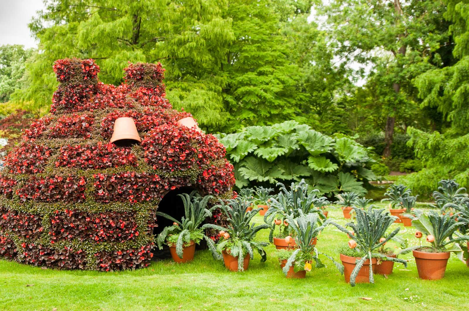 Visiter le jardin des plantes durant un citytrip à Nantes