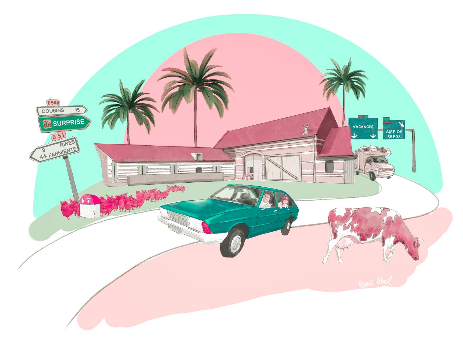 Second épisode du podcast la route des vacances