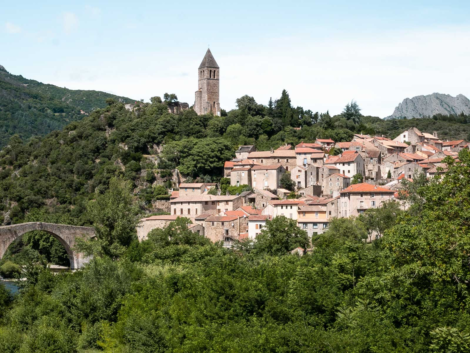 Olargues, l'un des plus beaux villages de France