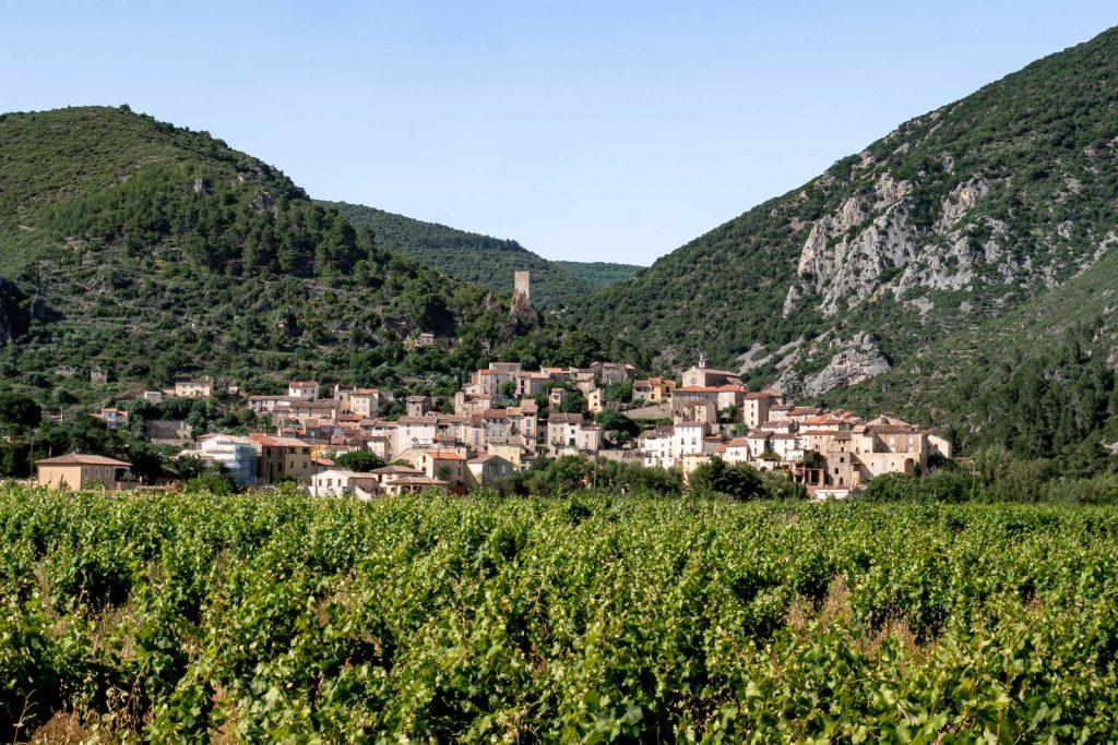 Carnet de voyage à Roquebrun