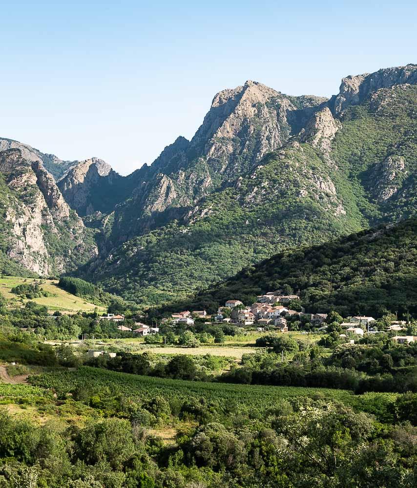 Les montagnes du Haut Languedoc