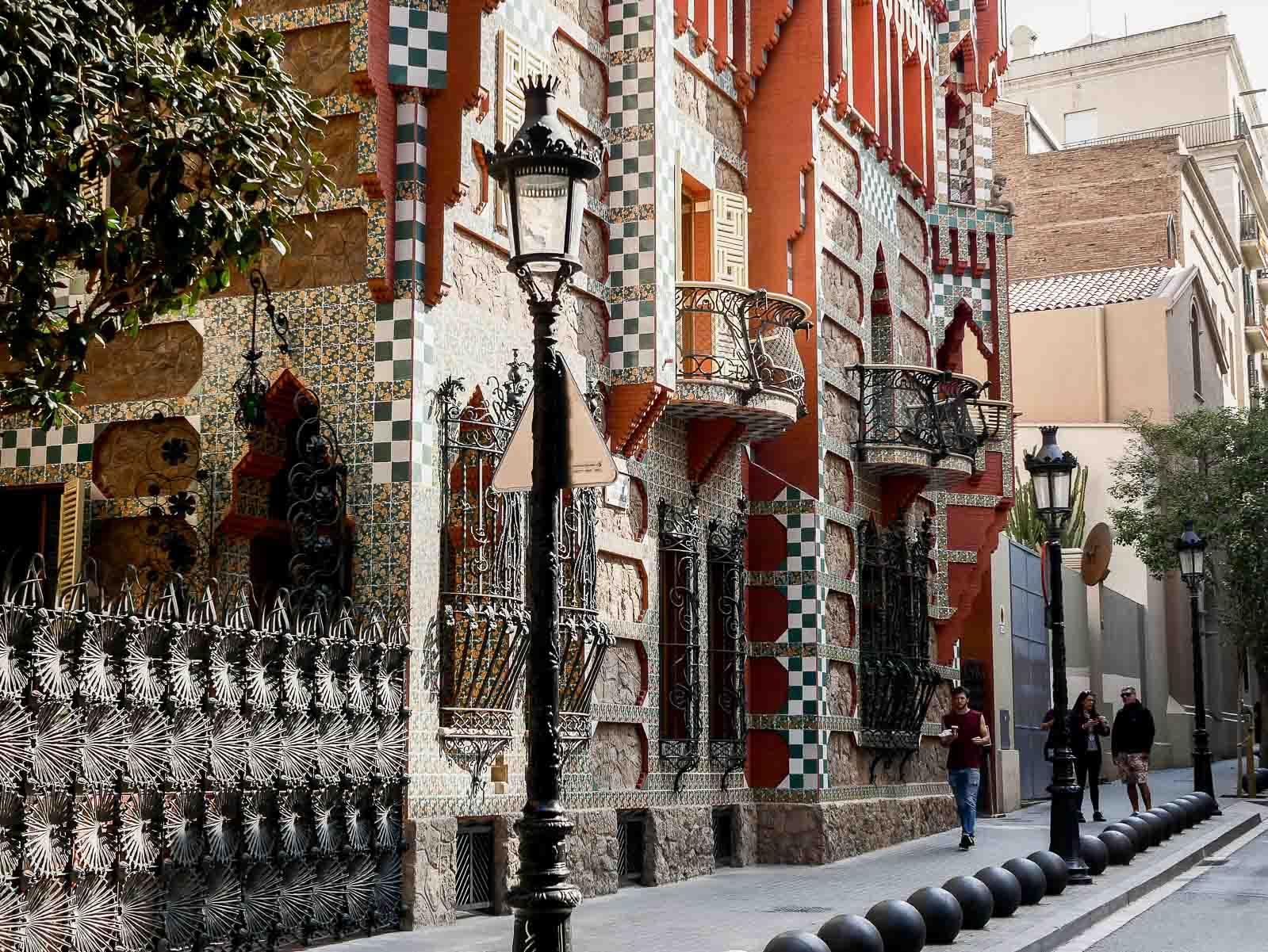 La casa Vincens de Gaudi