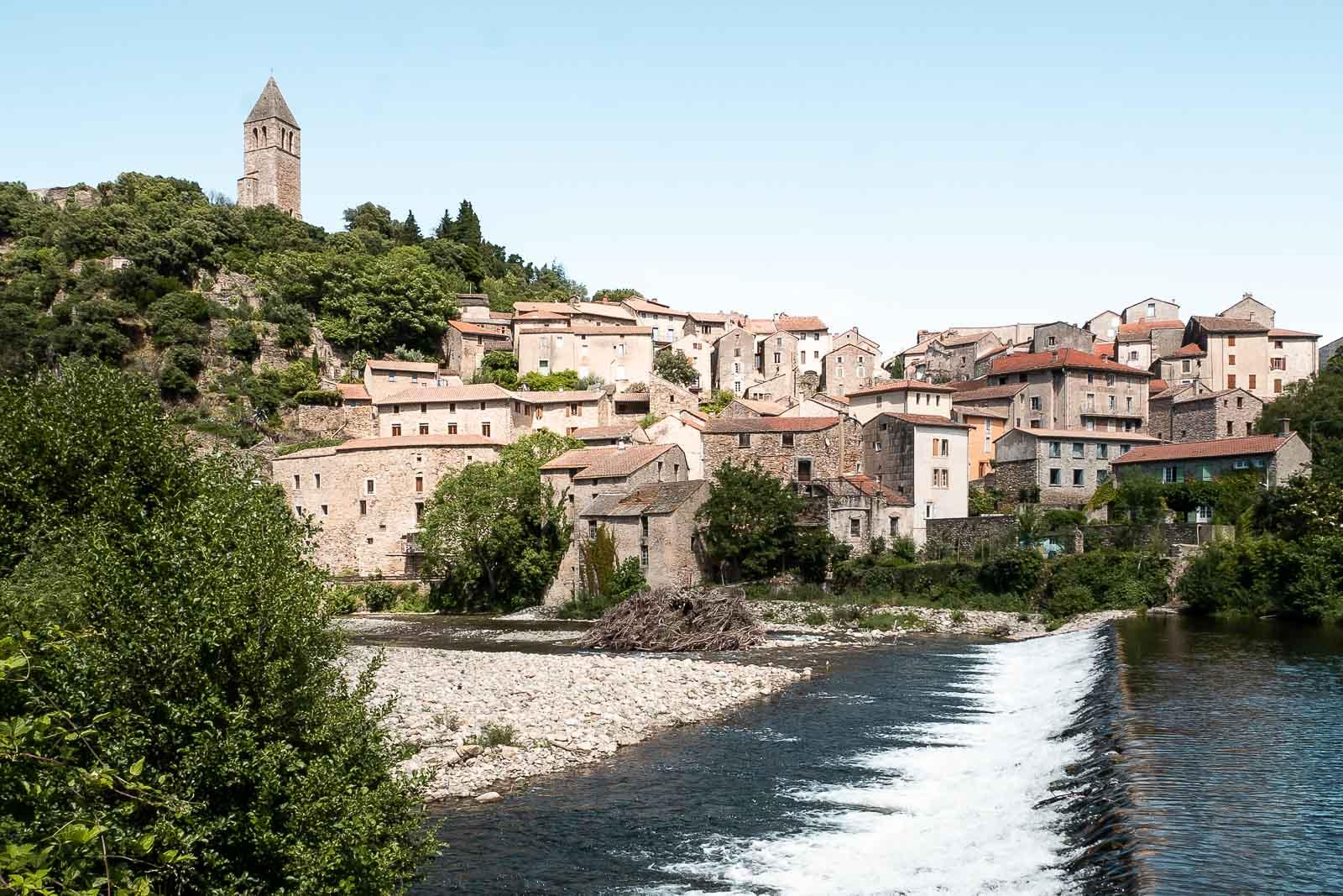 Découvrir Olargues, l'un des plus beaux villages de France dans l'Hérault