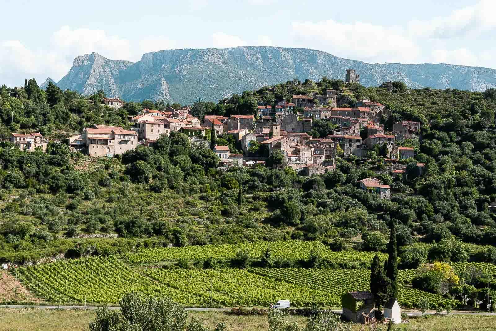 Vieussan : l'un des plus beaux villages de l'Hérault
