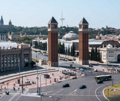 Visiter la place d'Espagne lors d'un week-end en Catalogne