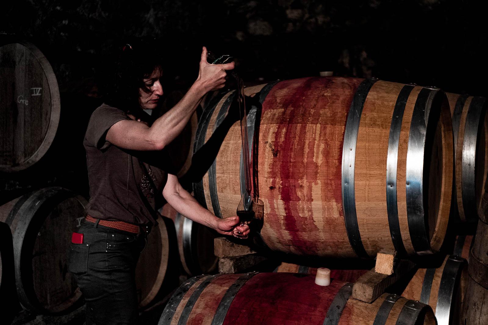 Rencontre avec une vigneronne dans l'Hérault