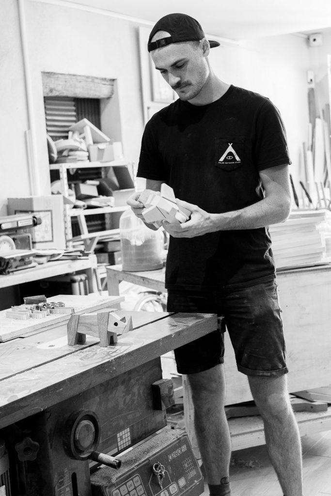 Thibaut Malet, designer de Montpellier