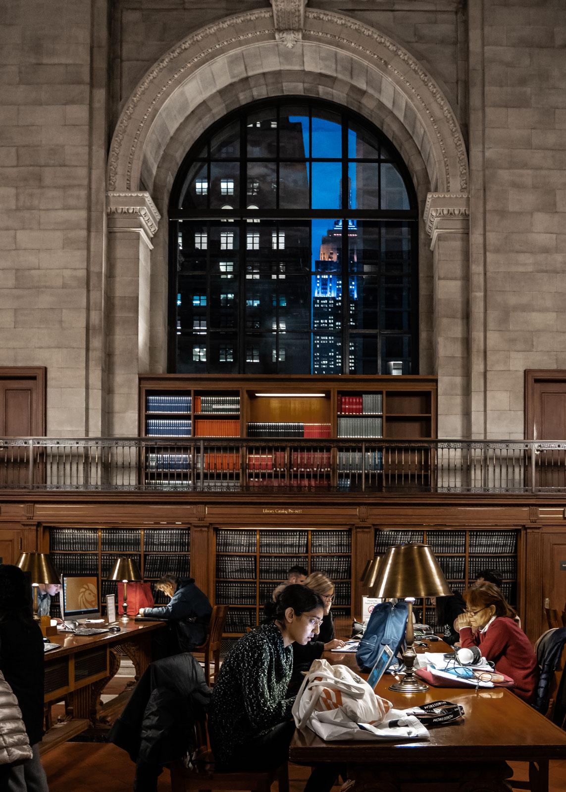 La Public Library de New York