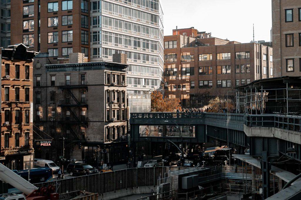 Ballade sur la High Line à New York