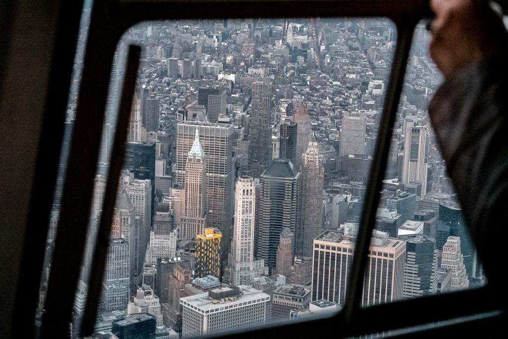 New York vue du ciel