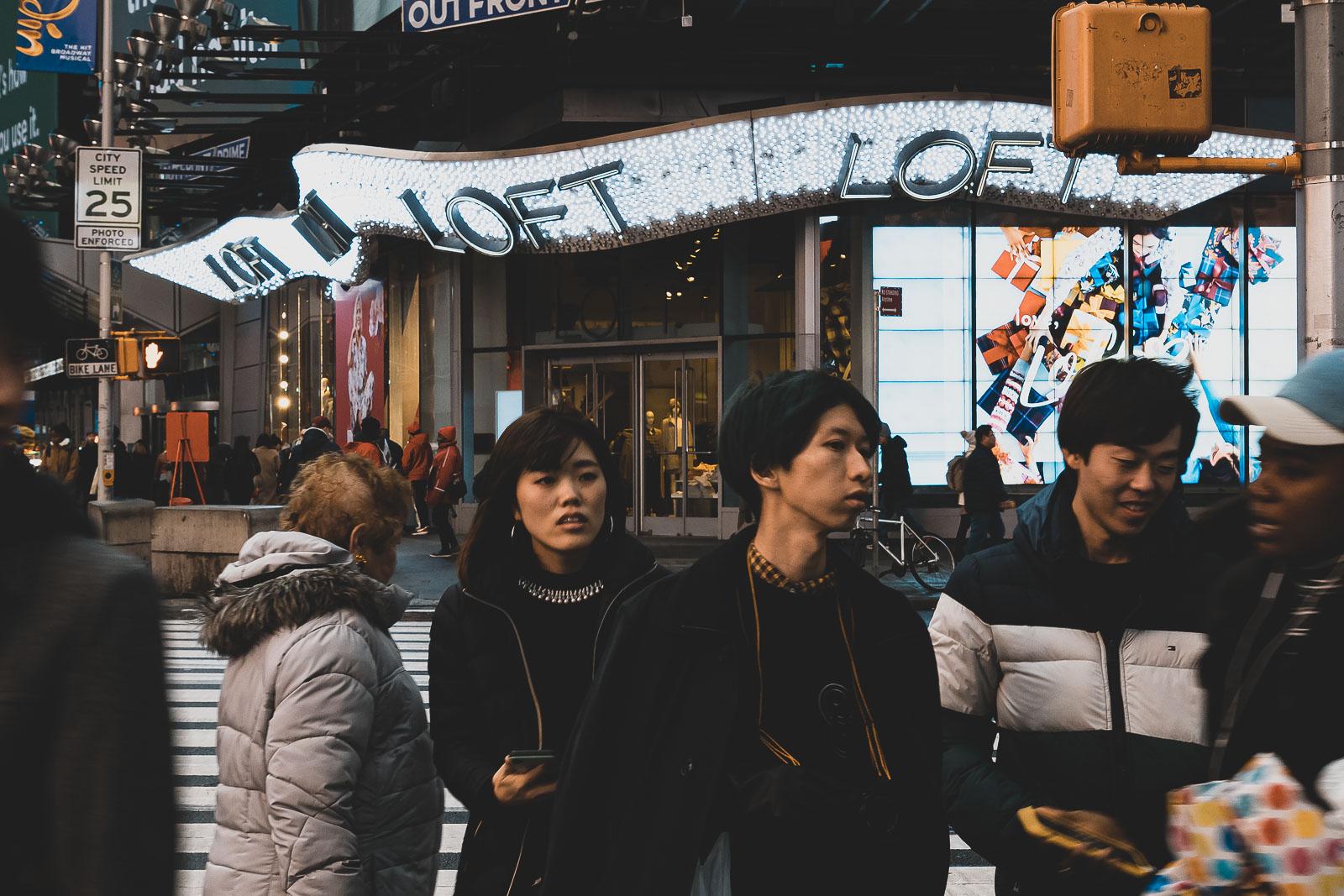 Photo de rue à New York