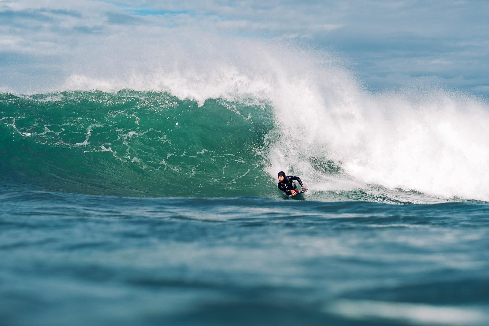 Photo de surf par Gregory Mignard