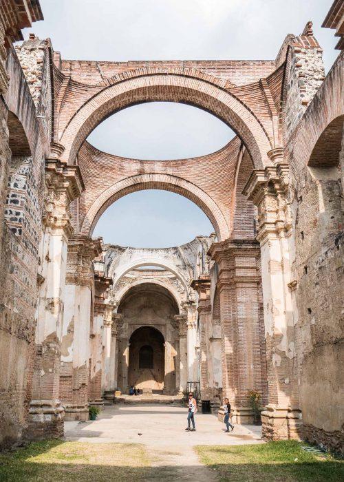 Monument à voir à Antigua : la cathédrale