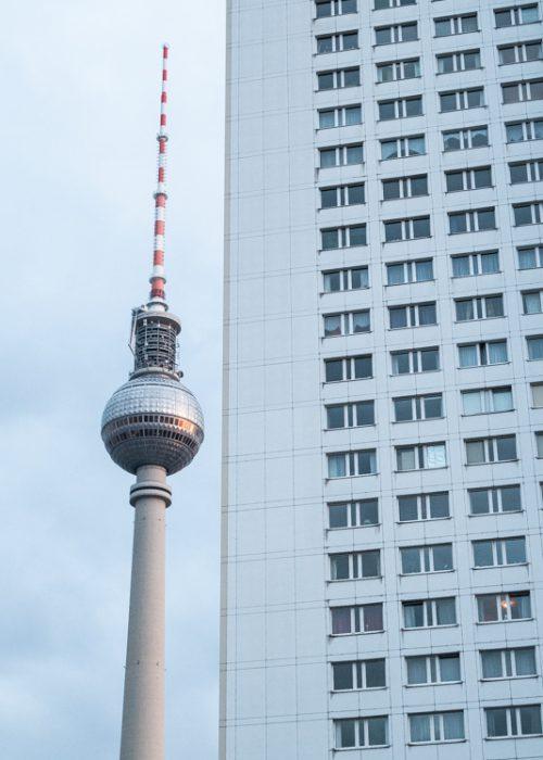 La Tour de la Télévision à Berlin